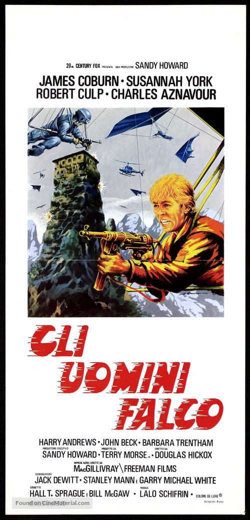 Sky Riders - Italian Movie Poster