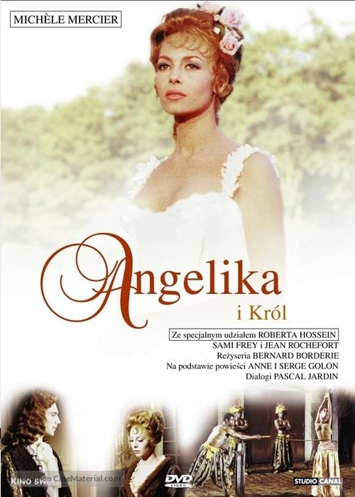 Angélique et le roy - Polish Movie Cover