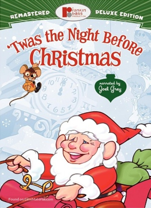 'Twas the Night Before Christmas - DVD movie cover