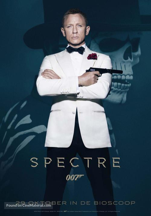 Spectre - Dutch Movie Poster