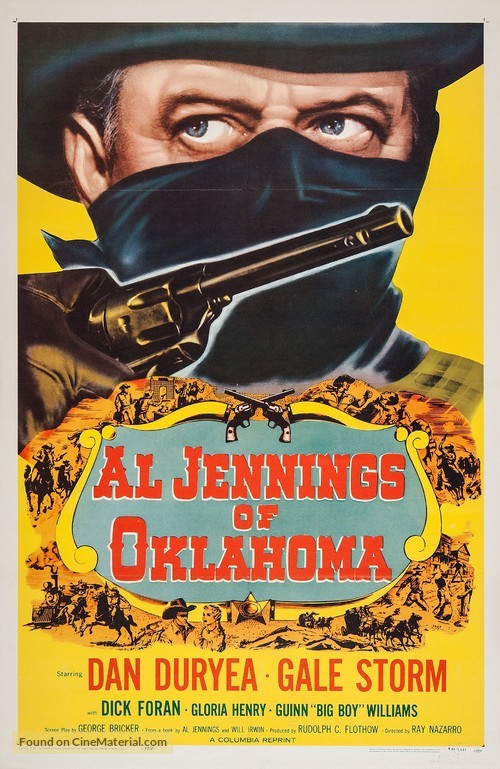 Al Jennings of Oklahoma - Re-release movie poster