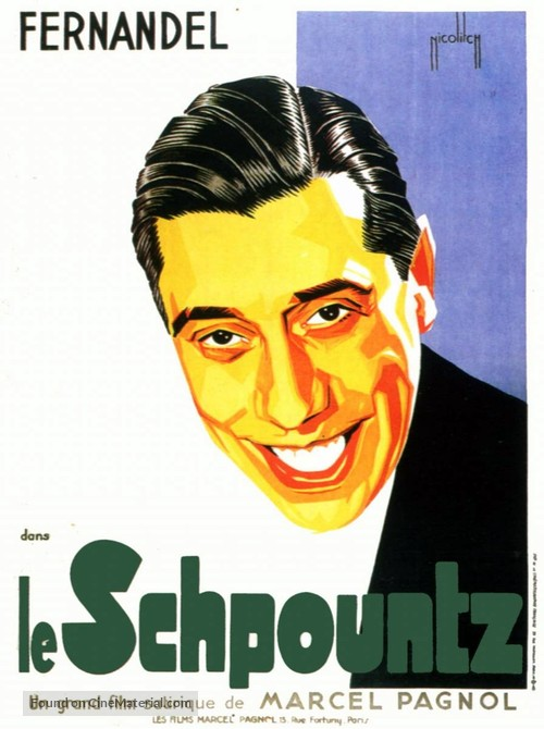 Schpountz, Le - French Movie Poster