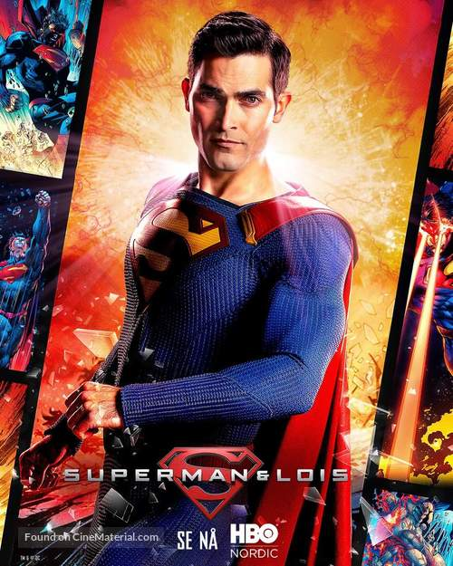 """""""Superman and Lois"""" - Norwegian Movie Poster"""
