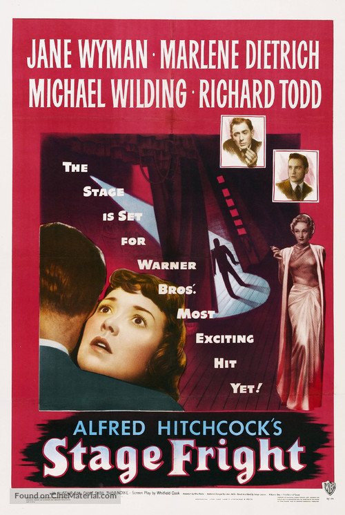 Stage Fright - Movie Poster