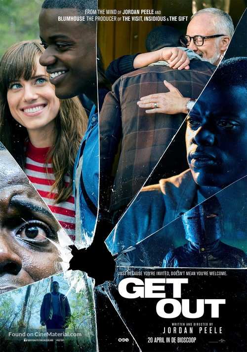 Get Out - Dutch Movie Poster