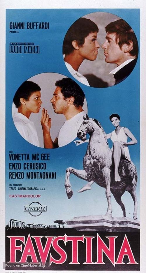 Faustina - Italian Movie Poster