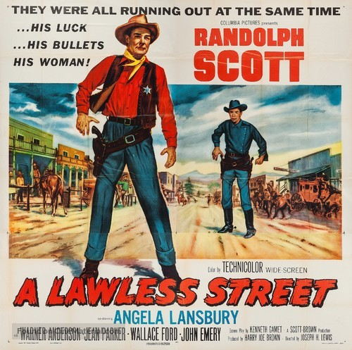 A Lawless Street - Movie Poster