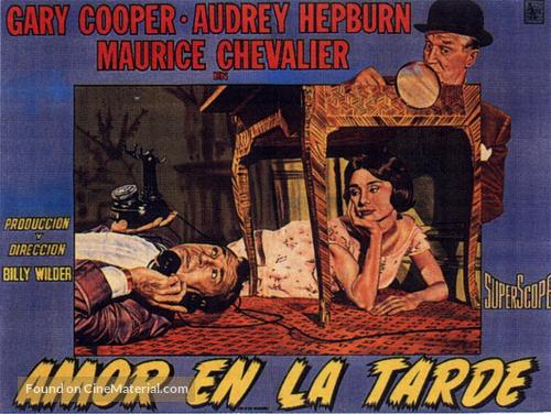 Love in the Afternoon - Argentinian Movie Poster