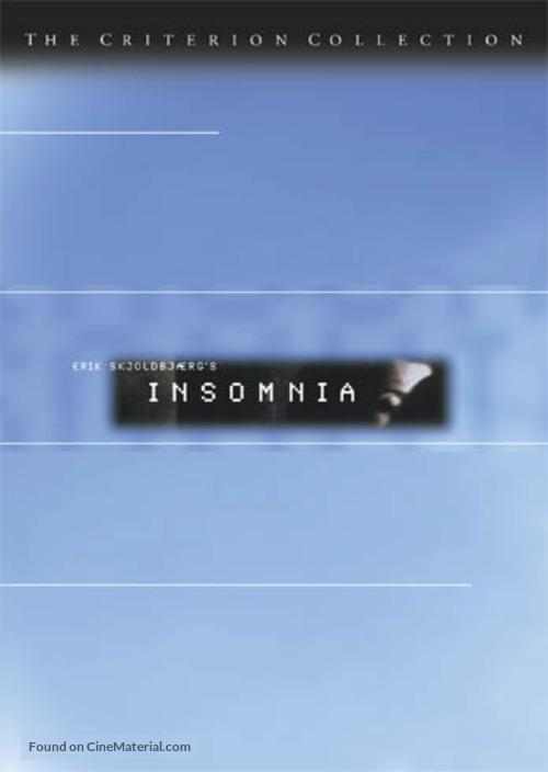 Insomnia - DVD movie cover