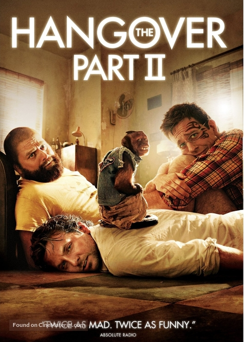 the hangover part ii dvd cover