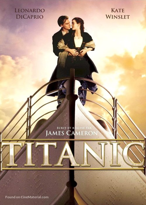 titanic french movie poster