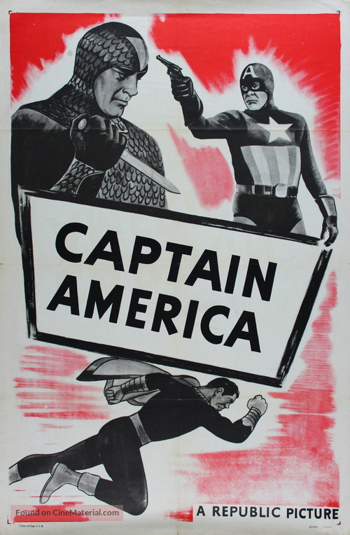Captain America - Re-release movie poster