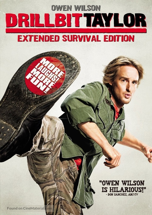 Drillbit Taylor - DVD movie cover