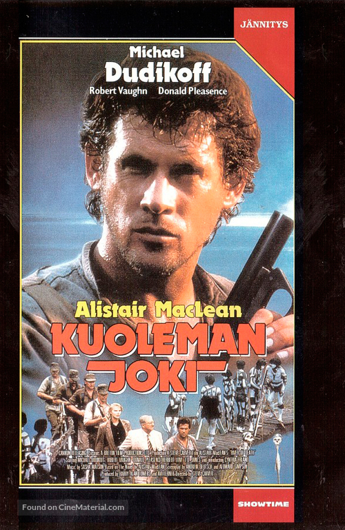 River of Death - Finnish VHS movie cover
