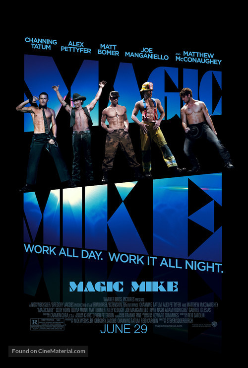 Magic Mike - Movie Poster