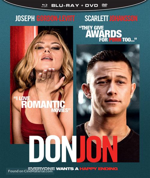 Don Jon - Finnish Blu-Ray movie cover
