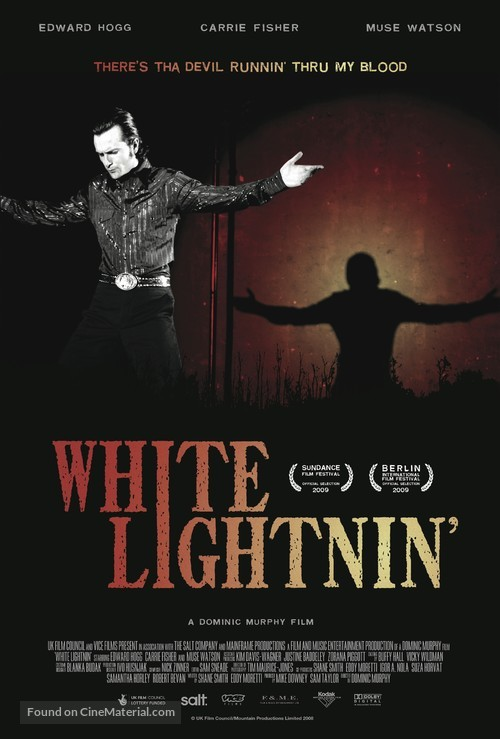 White Lightnin' - British Movie Poster