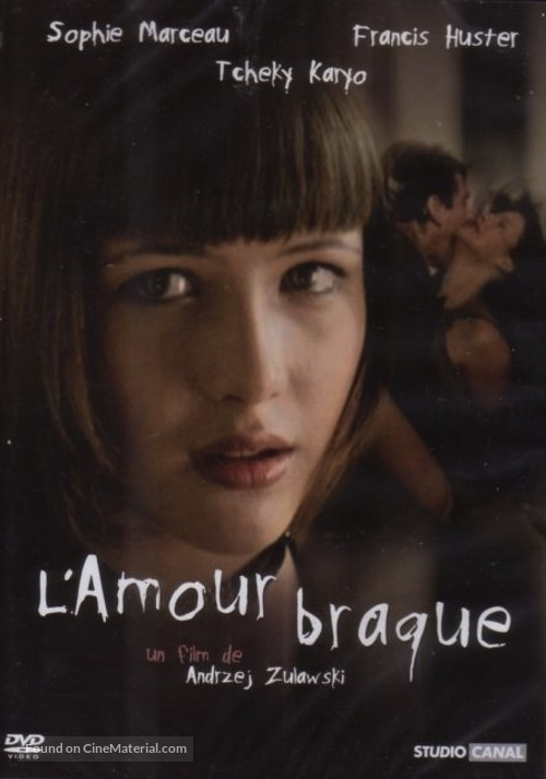 L'amour braque - French DVD movie cover