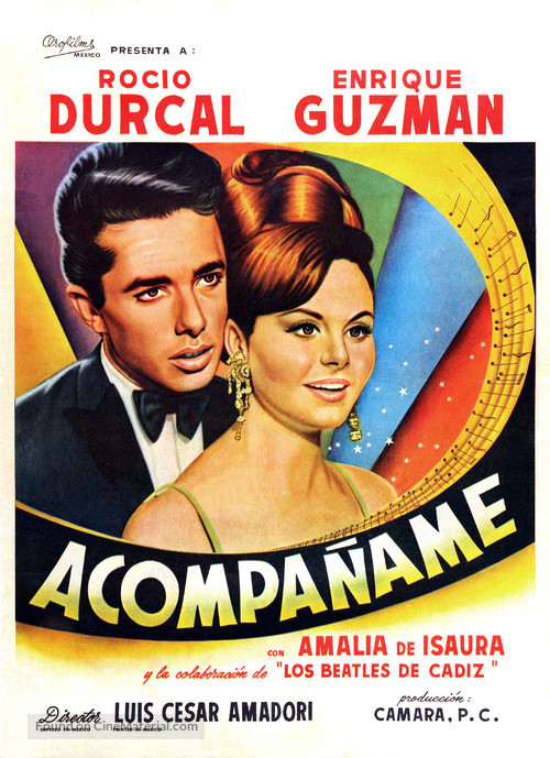 Acompáñame - Mexican Movie Poster
