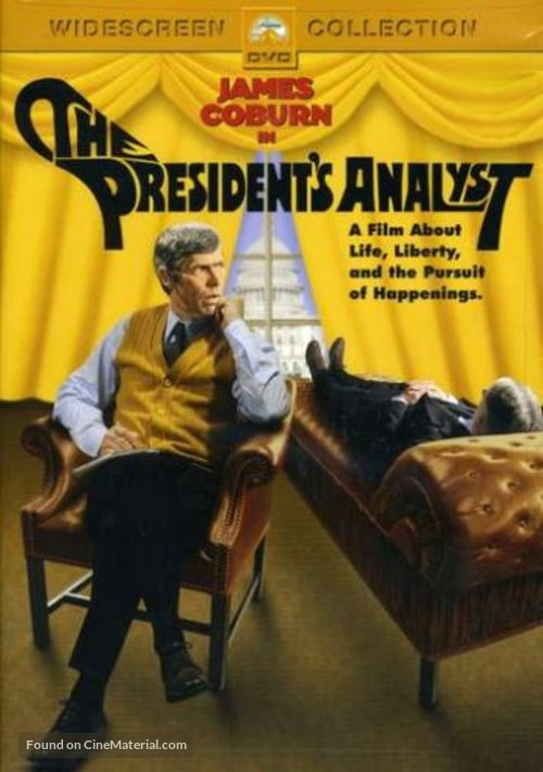 The President's Analyst - DVD cover