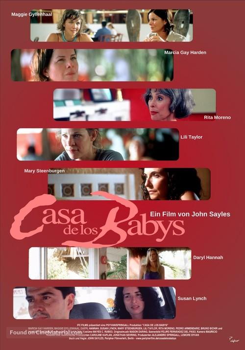 Casa de los babys - German Movie Poster