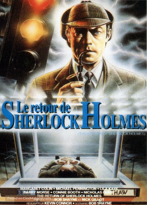 The Return of Sherlock Holmes - French Movie Cover
