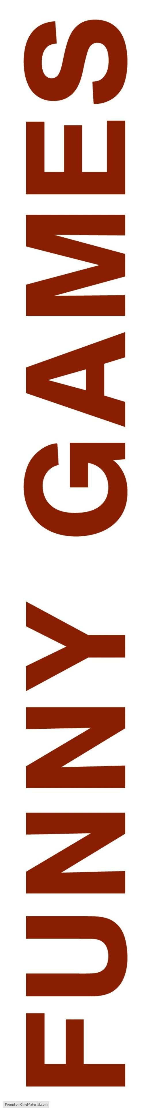 Funny Games U.S. - Logo