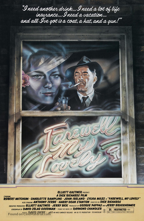 Farewell, My Lovely - Movie Poster
