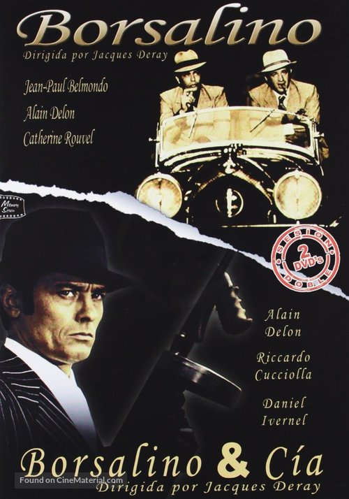 Borsalino and Co. - Spanish DVD movie cover