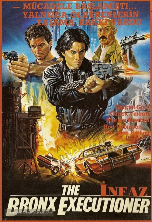 Giustiziere del Bronx, Il - Turkish Movie Cover