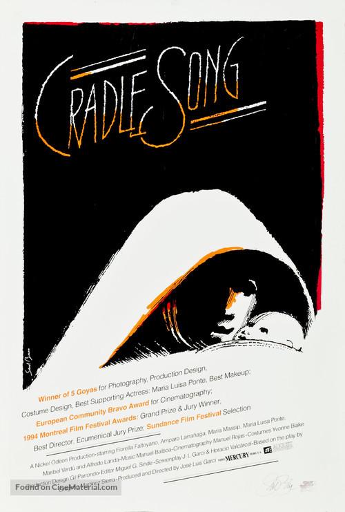 Canción de cuna - Movie Poster