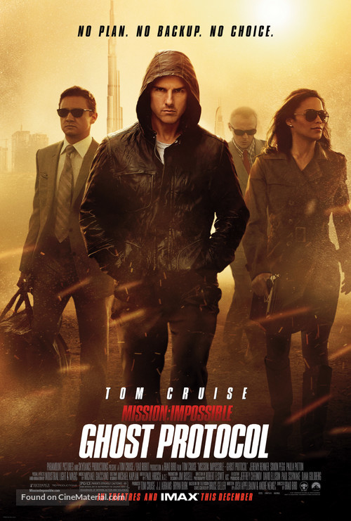 Mission: Impossible - Ghost Protocol - Movie Poster