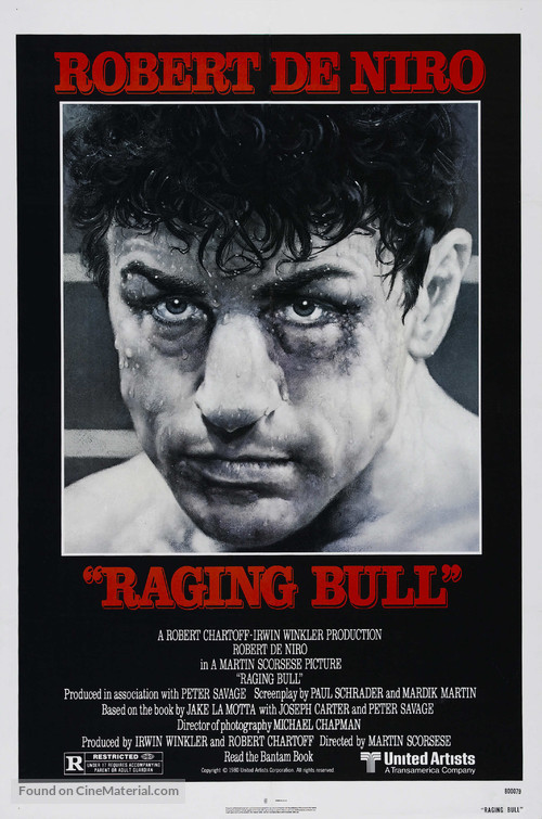 Raging Bull - Movie Poster