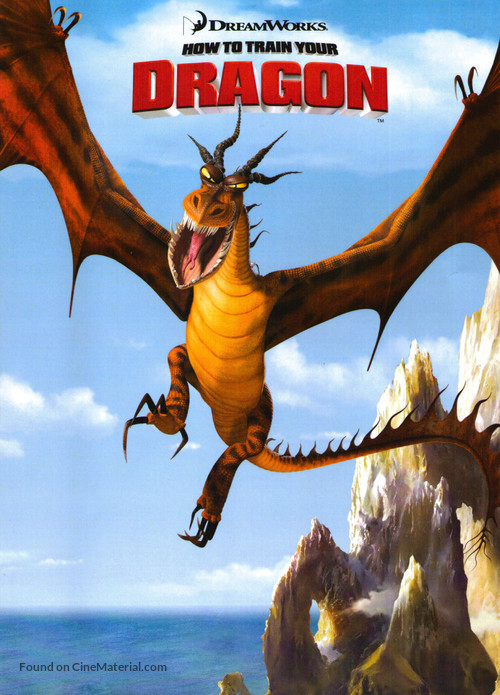 How to Train Your Dragon - Movie Poster