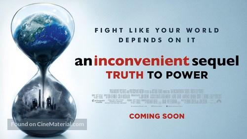 An Inconvenient Sequel: Truth to Power - British Movie Poster