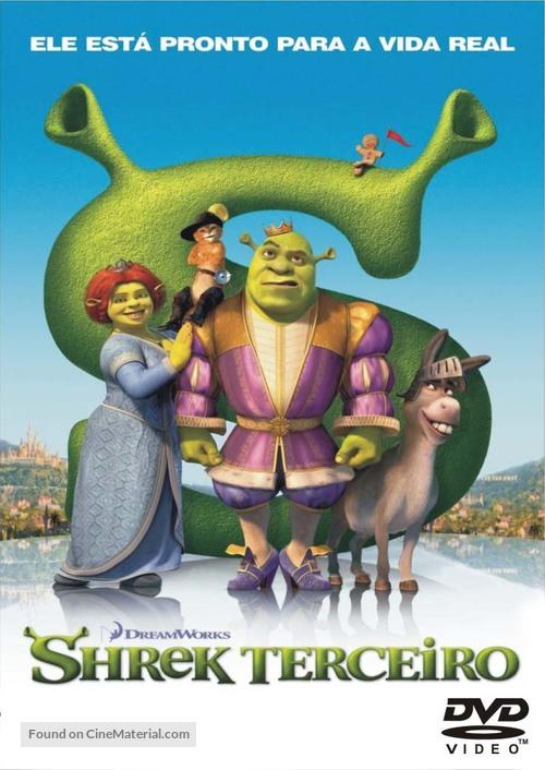 Shrek the Third - Brazilian DVD movie cover