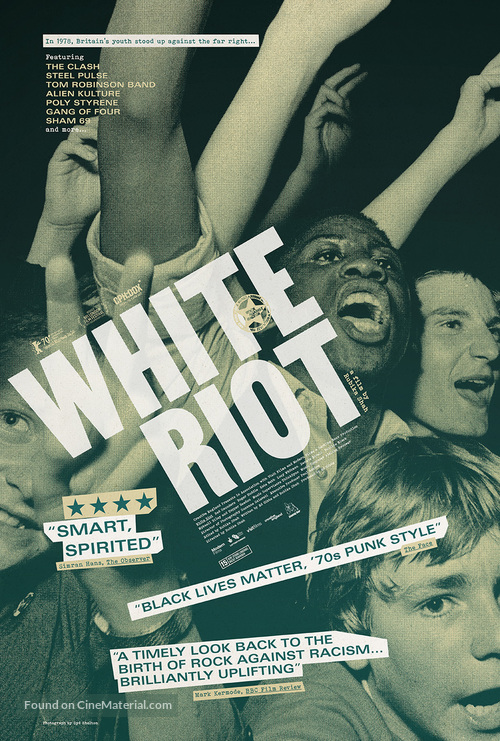 White Riot - British Movie Poster