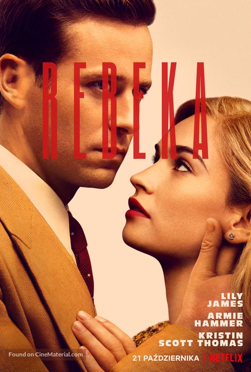 Rebecca - Polish Movie Poster