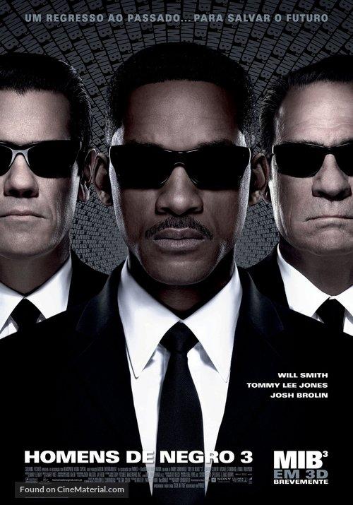 Men in Black 3 - Portuguese Movie Poster