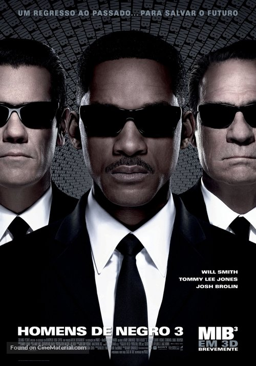 Men in Black 3 - Portuguese Movie Poster
