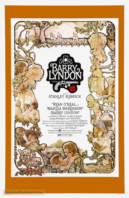 Barry Lyndon - Theatrical movie poster