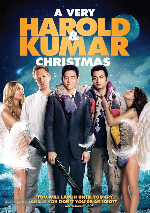 A Very Harold & Kumar Christmas - DVD movie cover