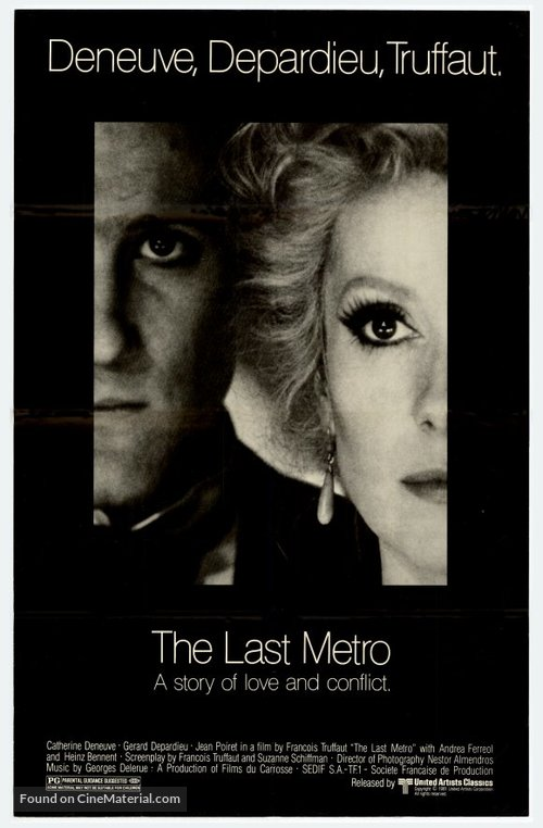 Le dernier métro - Movie Poster