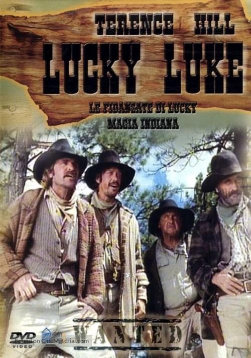 """""""Lucky Luke"""" - Italian Movie Cover"""