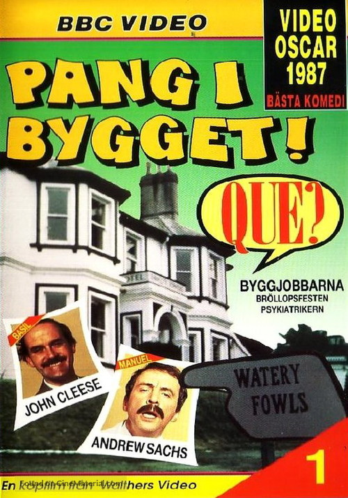 """""""Fawlty Towers"""" - Swedish DVD movie cover"""