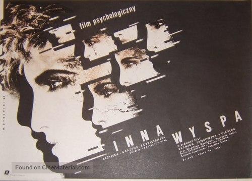 Inna wyspa - Polish Movie Poster