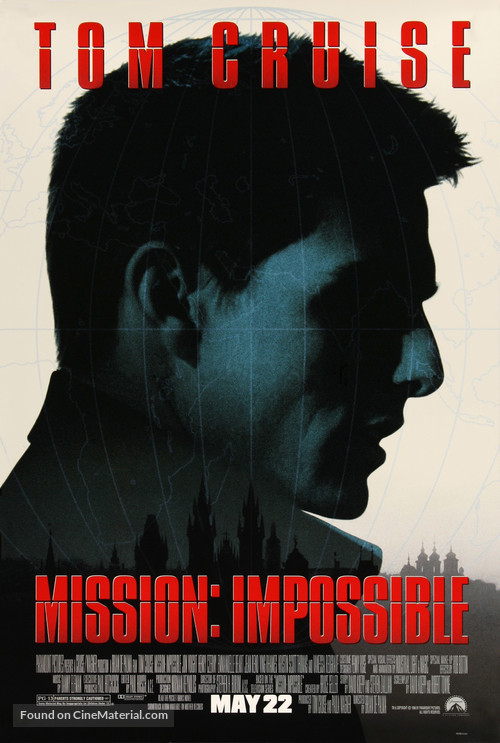 Mission: Impossible - Movie Poster