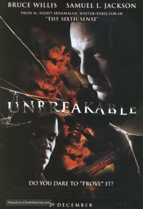 Unbreakable 2000 Thai Movie Poster