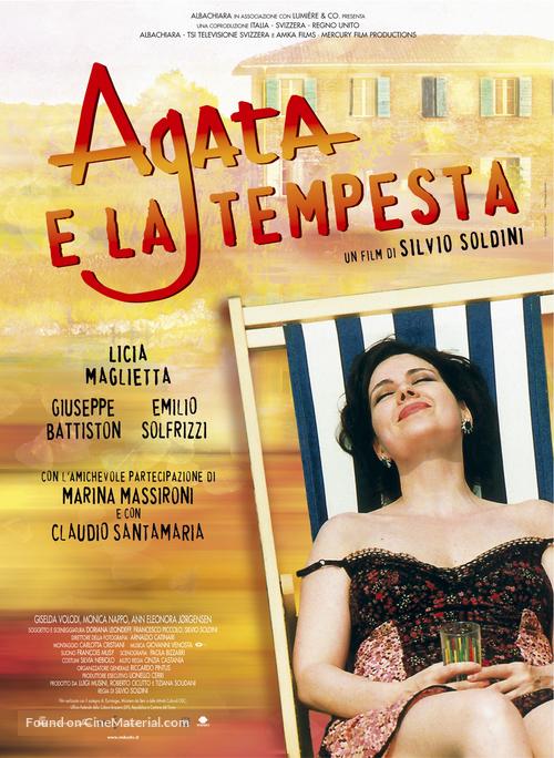 Agata e la tempesta - Italian Movie Poster