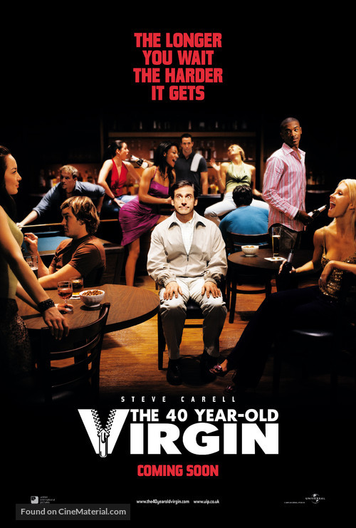 The 40 Year Old Virgin 2005 Movie Poster